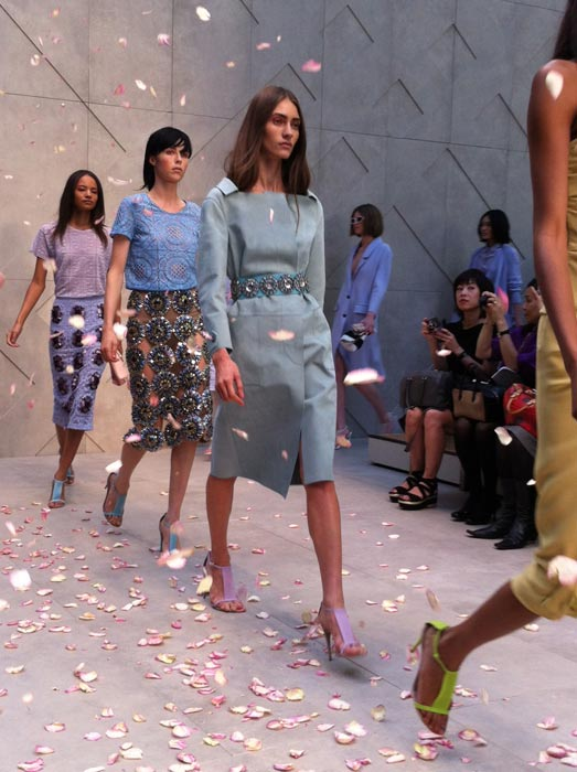 Front row at Burberry: Donna Air's LFW diary