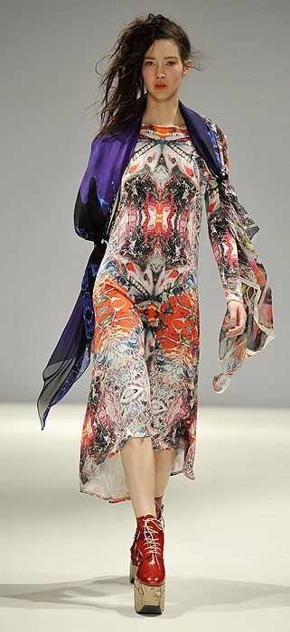 Baby, it's cold outside: Print perfect looks to ward off ...