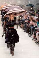 Burberry goes down a storm with A-listers