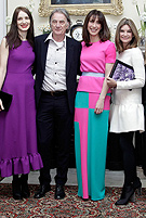 Samantha Cameron and her children champion British fashion