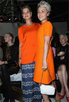 Pixie and Jaime prove orange really is the new black