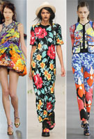 Pretty pleats and flamboyant florals - the trend report is in