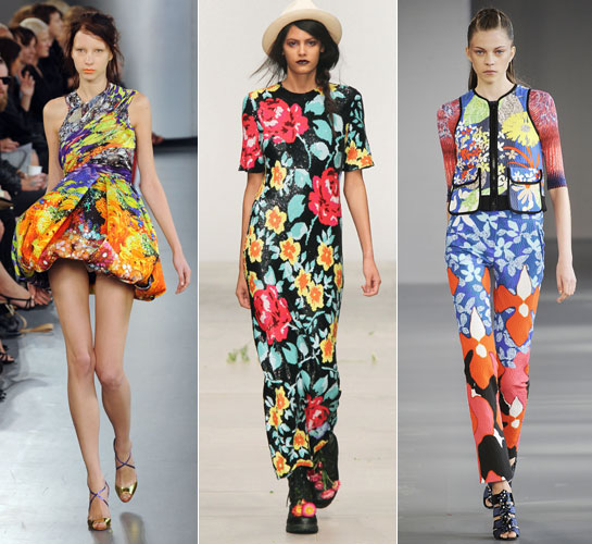 London Fashion Week Pretty Pleats And Flamboyant Florals The Trend Report Is In