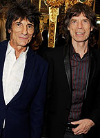 Rockstar Mick Jagger turns out to support partner L'Wren Scott