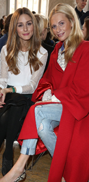 The best front row pictures from London Fashion Week