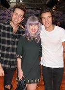 Harry Styles and Kelly Osbourne lead fashion pack at Henry Holland's show
