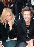 Harry Styles heads up A-listers at Burberry