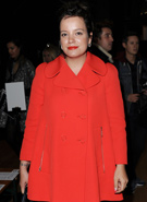 Lily Allen makes stylish LFW appearance