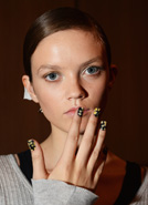 Weird and wonderful nail art at LFW