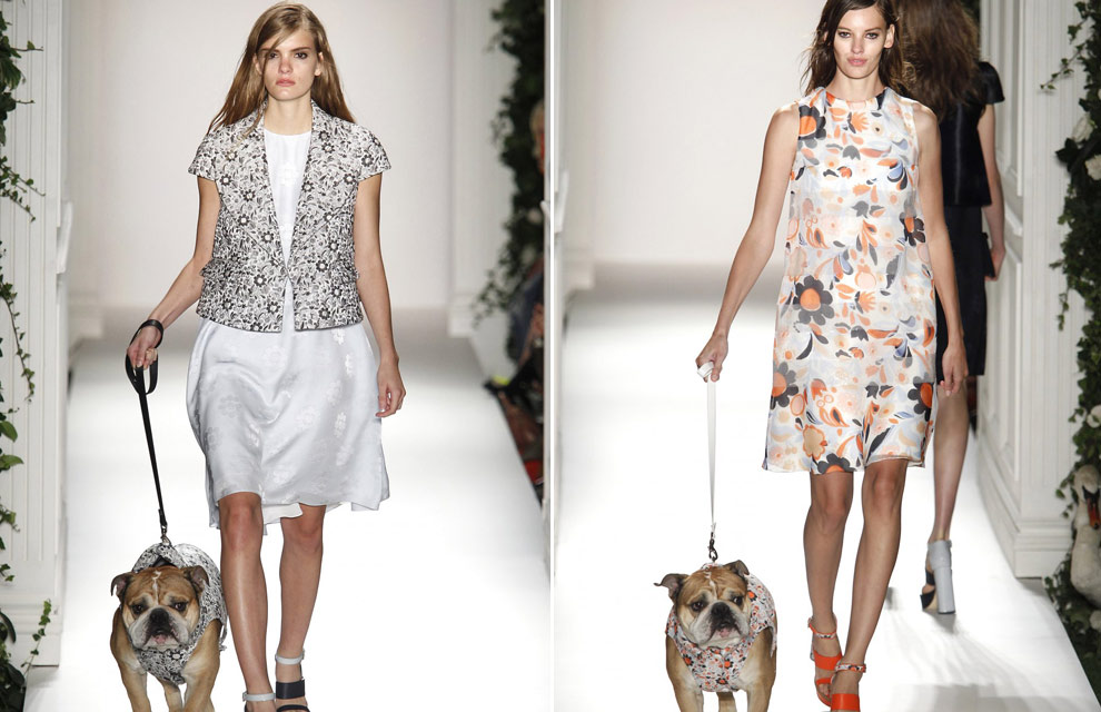 Mulberry dogs and a giggling Harry Styles: The best bits of last season's LFW
