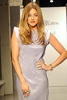 Fearne Cotton takes to catwalk to launch new clothing range
