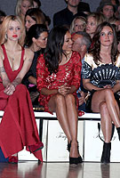 Pretty Pippa mixes with fashion's elite at Alice Temperley